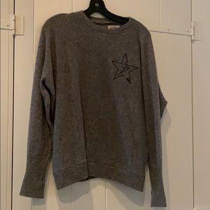 Cashmere lightning sweater